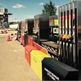 Топливораздаточная колонка б/у ADAST V-Line 5 видов топлива, 10 рукавов