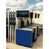 Топливораздаточная колонка Scheidt Bachmann б/у (MZ 6106) 3 вида топлива, 6 рукавов